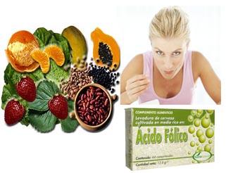 suplementos y vitaminas en oncologia acido folico